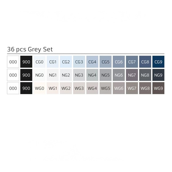 36_pack_brush_grey_set_colours